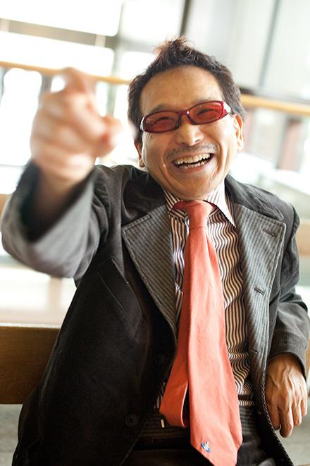 いい笑顔のご祖父さま