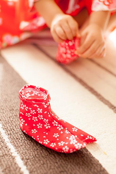 女の子の足袋
