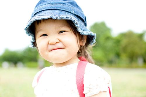 お姉ちゃんの満面の笑み