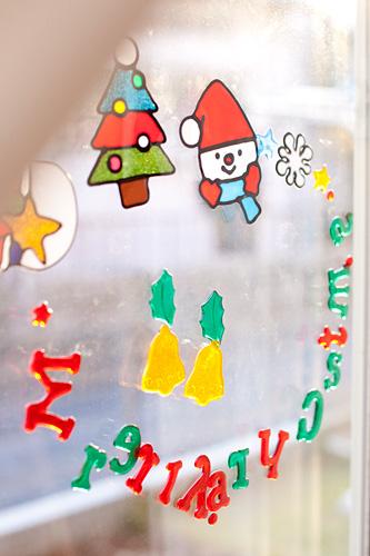 並べ替えられたメーリクリスマスの文字