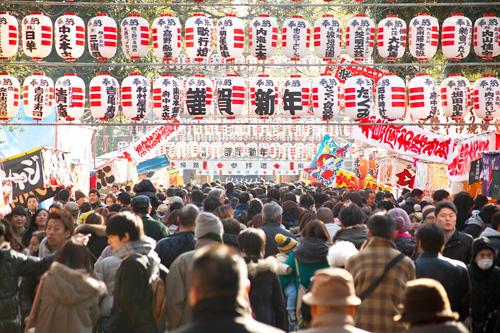 大國魂神社の初詣