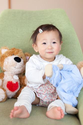 お人形さんと女の子