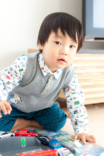 2歳の記念の出張撮影@横浜市