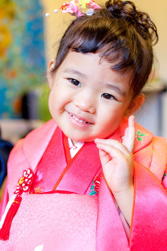 3歳の女の子