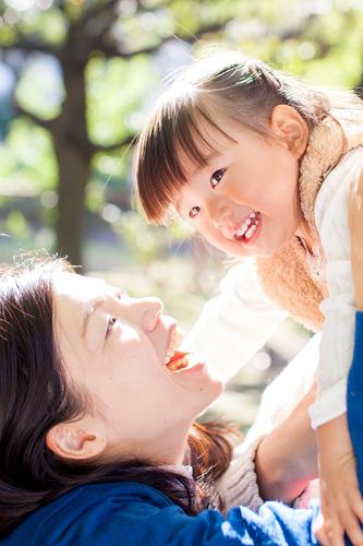 お母さまと女の子
