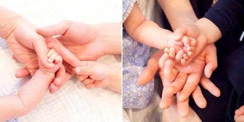 みんなの手