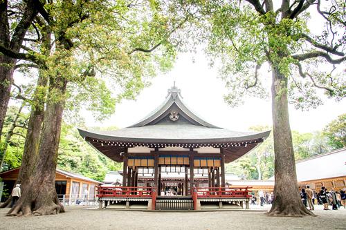 お宮参りの出張撮影@大宮・氷川神社