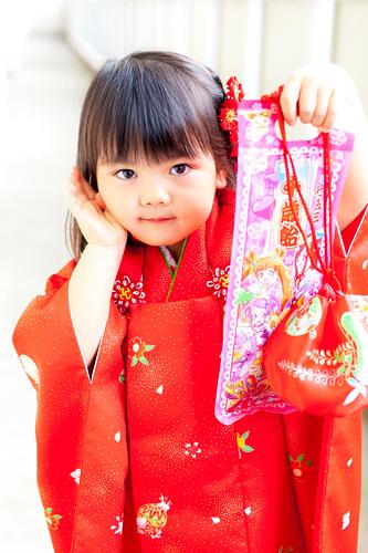 七五三の出張撮影@練馬区光が丘・北野八幡神社