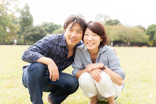 ご夫婦の記念写真